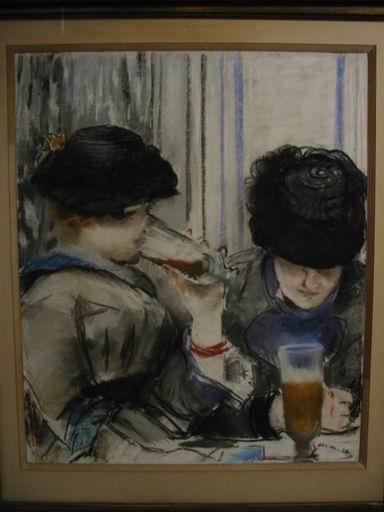 Le signore al bar di Renoir