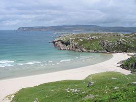 Una bellissima spiaggia...peccato ci fossero 9 gradi!