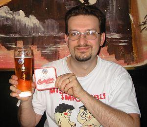 Per entrare subito in tema: una Budweiser a Cesky Budejovice